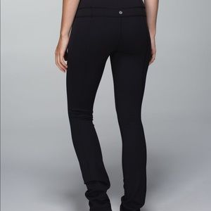 Lululemon Reversible Straight Leg Groove Pants